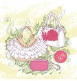 Fashion of various handbags vector image vector image