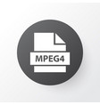 mpeg4 icon symbol premium quality isolated mp4 vector image vector image
