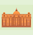 royal palace tourism travel design famous building vector image