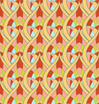 Seamless abstract ornament pattern vector image vector image