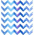 Chevron watercolor blue Background vector image