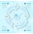abstract elements of infographics for business vector image