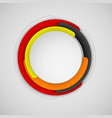 abstract colorful circle background for banner vector image vector image