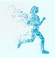 abstract fitness background vector image
