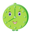childrens clock vector image
