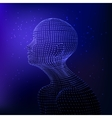 Graphic artificial intelligence vector image vector image