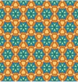 hand drawn folk ethnic ornamented seamless pattern vector image vector image