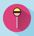 Lollipop Colorful round icon vector image vector image