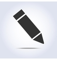 One pencil icon vector image