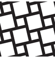 Seamless background with black squares on a white vector image vector image