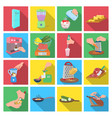tools kitchen equipment and other web icon in vector image vector image
