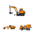 build and construction icon vector image