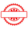 seal stamp template flat icon vector image