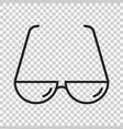 sunglasse icon eyewear flat vector image vector image