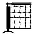 tennis net icon simple black style vector image vector image