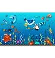 Underwater World Concept vector image