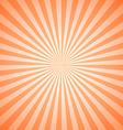 Vintage Geometric Radial Lines Sunburst Pattern vector image vector image