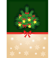 fir and background vector image vector image
