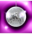 mirror disco ball EPS10 vector image vector image