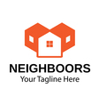 Neighboors Design vector image vector image