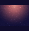 night shining starry sky with stars vector image vector image