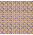 Seamless Geometric Circle Retro Pattern vector image