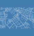 street map of town vector image vector image
