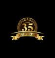 35th years anniversary logo template design