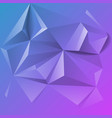 abstract colorful geometric low poly background vector image