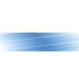 blue lines panoramic background vector image vector image