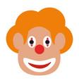 clown icon image vector image vector image