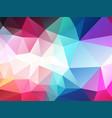 dark pastel color polygonal background vector image