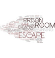 Escaping word cloud concept