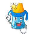 have an idea baby training cup isolated on mascot vector image