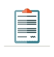 Medical Prescription pad icon vector image vector image