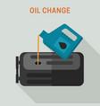 motor oil change vector image vector image