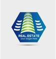 Real estate office Building vector image vector image