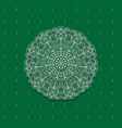 seamless month pattern and circles mandala vector image