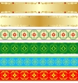 Seamless patterns-2 vector image vector image