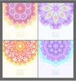 Set of geometric creative banners vector image vector image