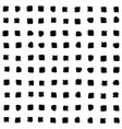 small black squares seamless pattern vector image vector image