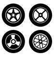 Tire design vector image vector image