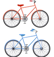 two bikes vector image
