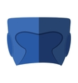 Boxing helmet isolated icon vector image vector image