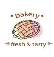 bread fresh tasty white background image vector image vector image