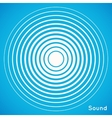 Concentric circle elements Radar screen vector image vector image