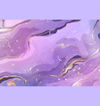 gradient rose violet liquid marble or watercolor vector image vector image