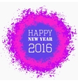 Happy New Year Colorful Greeting vector image vector image