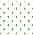 spinach pattern seamless vector image vector image