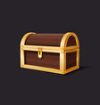 treasure chest medieval mystery pirate treasures vector image